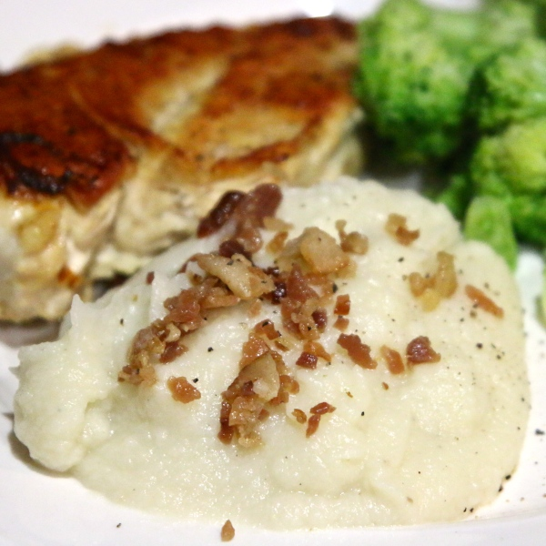 "Paleo…Faux Mashed ""Potatoes"""