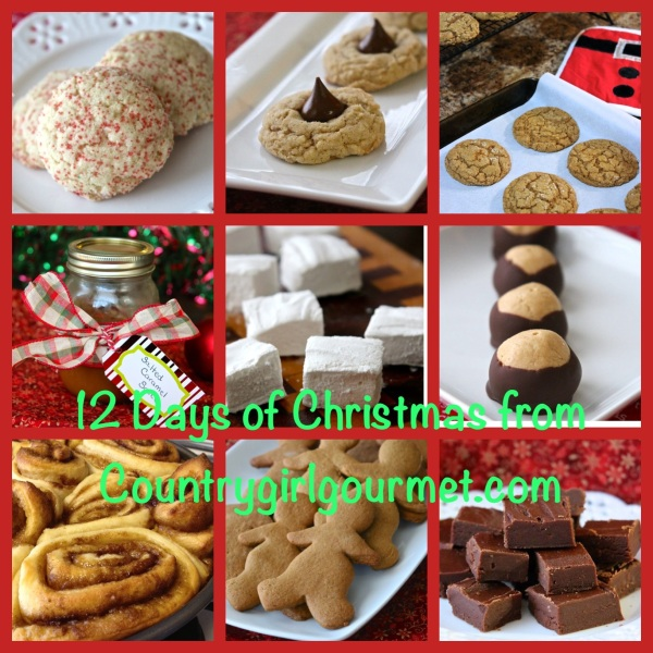 Country Girl Gourmet 12 days of Homemade Christmas!