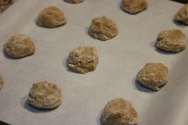 Molasses Krinkles