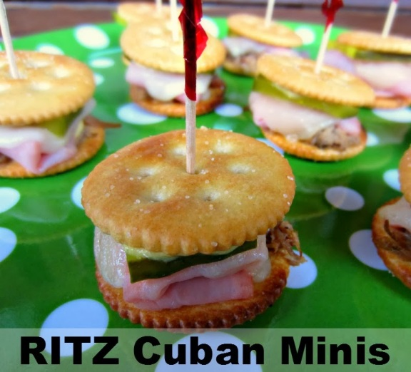 RITZ Cuban Minis | Renee's Kitchen Adventures