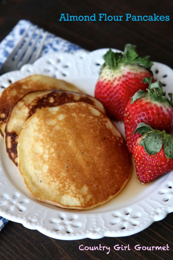 Gluten Free and Paleo Almond Flour Pancakes | Country Girl Gourmet