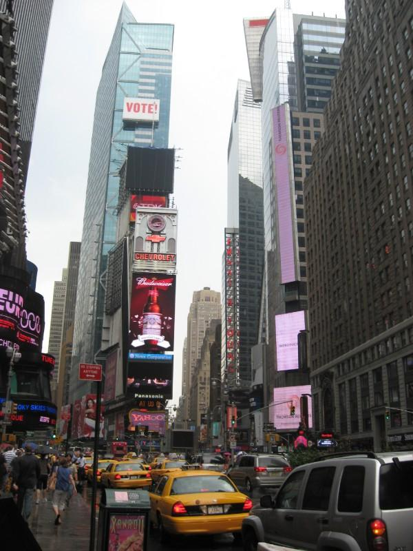 NYC- Time Square