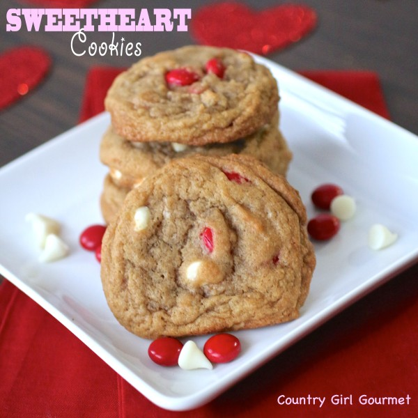 Sweetheart Cookies | Country Girl Gourmet