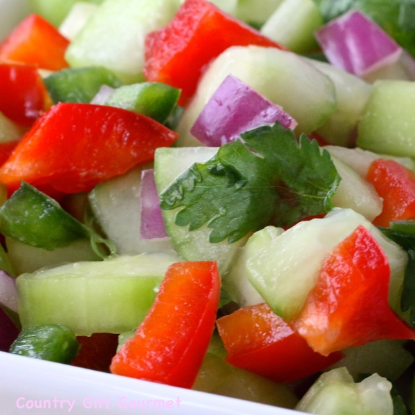 Cucumber Salsa | Country Girl Gourmet