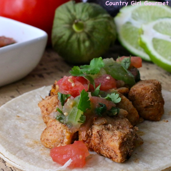 Pork Carnitas with Cilantro Tomatillo Sauce | Country Girl Gourmet