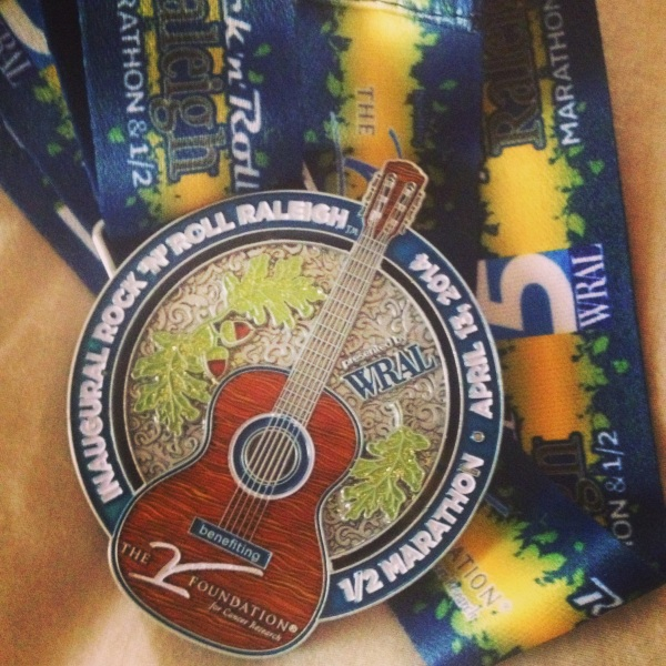 Rock N Roll Half Marathon Recap | Country Girl Gourmet